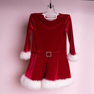 ✨✨ 3/$25 Girl's Festive Christmas Dress Size 3T